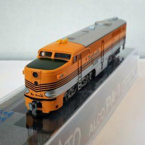 N Scale KATO PA-1 /'D/&RGW/' Four Stripe DCC Ready Item #176-4108